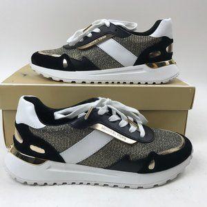 Michael Kors Glitter Trainer Sneakers Monroe